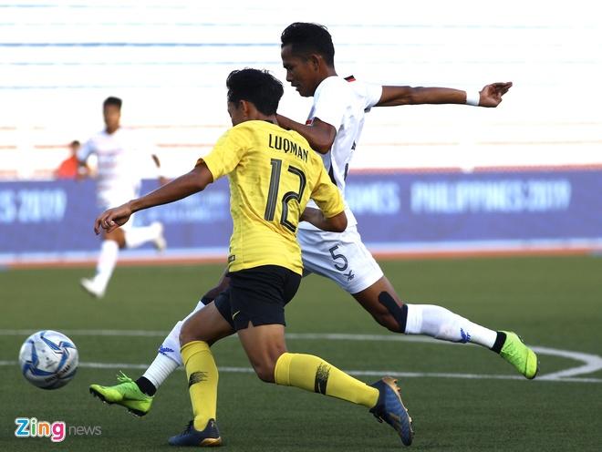 U22 Campuchia 3-1 Malaysia: Dau cham het cho 'Nhung chu ho' hinh anh 10