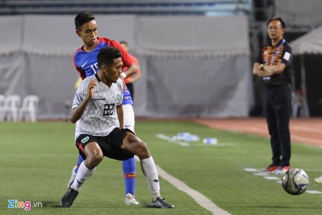 U22 Campuchia 3-1 Malaysia: Dau cham het cho 'Nhung chu ho' hinh anh 14