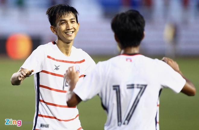 U22 Campuchia 3-1 Malaysia: Dau cham het cho 'Nhung chu ho' hinh anh 2