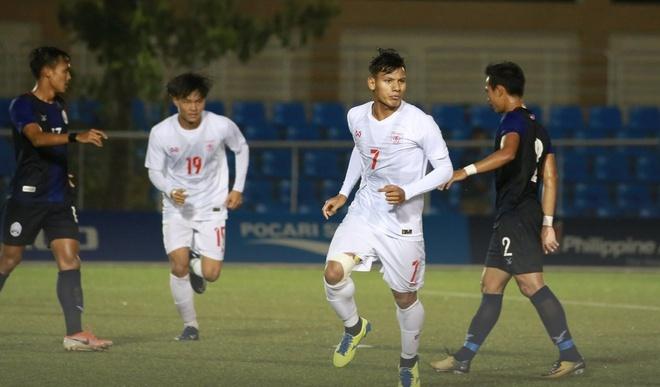 U22 Campuchia 3-1 Malaysia: Dau cham het cho 'Nhung chu ho' hinh anh 13