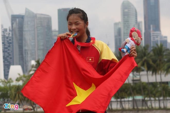 Xa thu Hoang Xuan Vinh truot HCV 10 m sung ngan tai SEA Games hinh anh 18