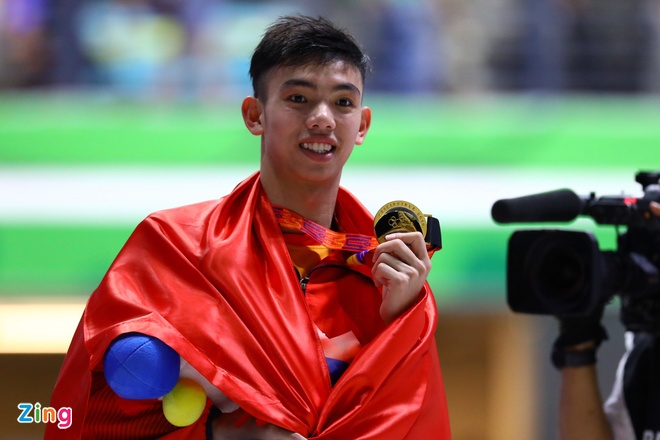 Xa thu Hoang Xuan Vinh truot HCV 10 m sung ngan tai SEA Games hinh anh 1