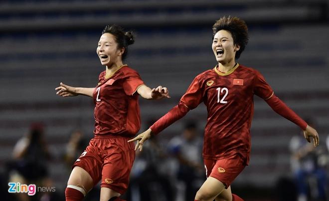 Đánh bại Thái Lan, tuyển nữ Việt Nam vô địch SEA Games