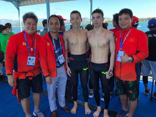 SEA Games: Huy Hoang gianh huy chuong boi ngoai troi 10 km hinh anh 11
