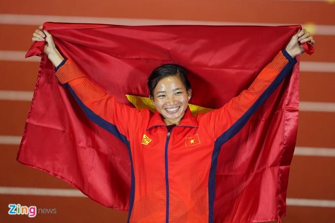 SEA Games: Doan Viet Nam gianh duoc 98 HCV, vuot Thai Lan tren BXH hinh anh 1