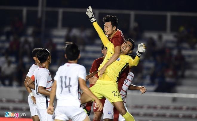 U22 Campuchia vs Myanmar anh 4