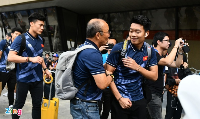 Thay Park, HLV Mai Duc Chung than thiet sau ky SEA Games lich su hinh anh 45