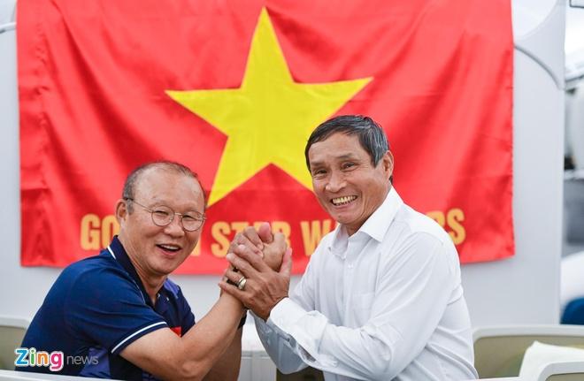 Thay Park, HLV Mai Duc Chung than thiet sau ky SEA Games lich su hinh anh 71