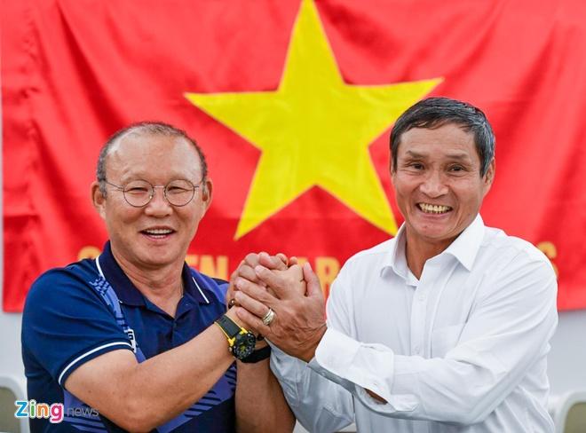Thay Park, HLV Mai Duc Chung than thiet sau ky SEA Games lich su hinh anh 72