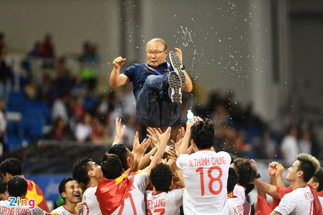 Thay Park, HLV Mai Duc Chung than thiet sau ky SEA Games lich su hinh anh 10