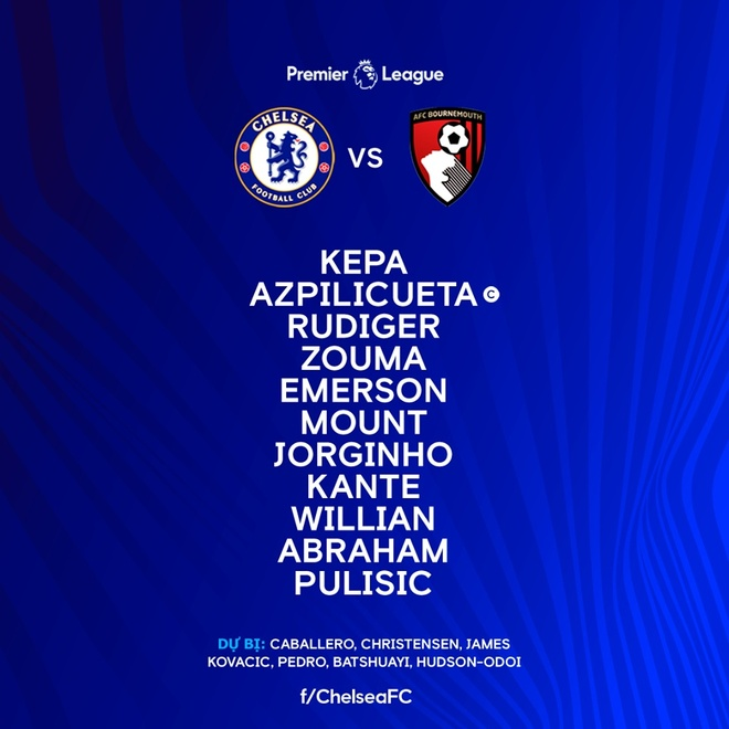 truc tiep Chelsea vs Bournemouth anh 5