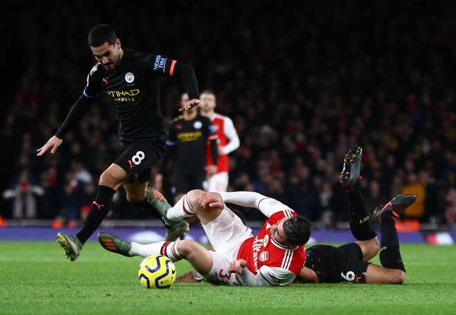 Arsenal 0-3 Man City: Khong the can De Bruyne hinh anh 16 2019-12-15T170805Z_1135028542_RC2TVD907OAK_RTRMADP_3_SOCCER-ENGLAND-ARS-MCI-REPORT.JPG