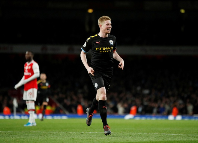 Arsenal 0-3 Man City: Khong the can De Bruyne hinh anh 1 2019-12-15T171308Z_110786706_RC2TVD9BZGG2_RTRMADP_3_SOCCER-ENGLAND-ARS-MCI-REPORT.JPG