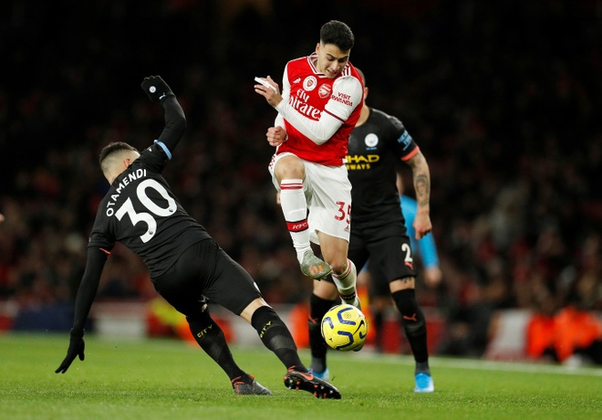 Arsenal 0-3 Man City: Khong the can De Bruyne hinh anh 20 2019-12-15T174149Z_1319867164_RC2TVD9Z1UBJ_RTRMADP_3_SOCCER-ENGLAND-ARS-MCI-REPORT.JPG
