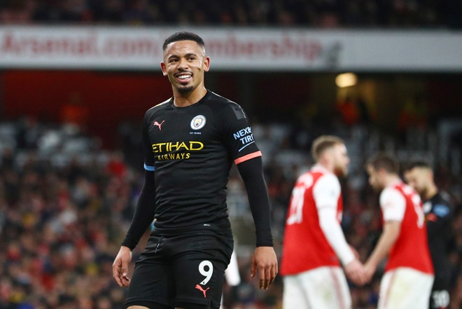 Arsenal 0-3 Man City: Khong the can De Bruyne hinh anh 22 2019-12-15T180250Z_754376806_RC2UVD9NFILN_RTRMADP_3_SOCCER-ENGLAND-ARS-MCI-REPORT.JPG