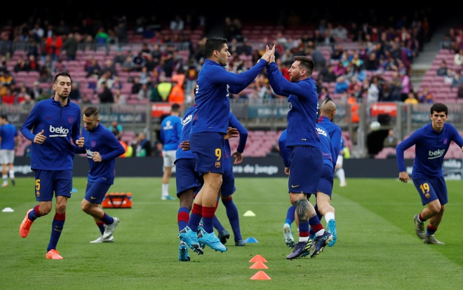 Messi toa sang giup Barca thang dam Alaves hinh anh 9 2019-12-21T144019Z_1147827868_RC2QZD9SD7O5_RTRMADP_3_SOCCER-SPAIN-FCB-ALV-REPORT.JPG