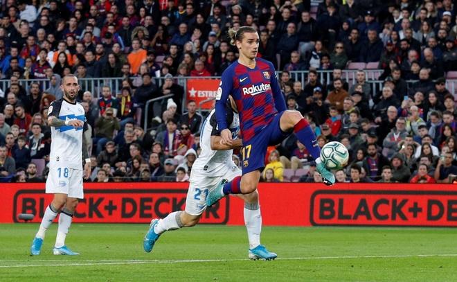 Messi toa sang giup Barca thang dam Alaves hinh anh 18 2019-12-21T161313Z_1510425850_RC2SZD912YOJ_RTRMADP_3_SOCCER-SPAIN-FCB-ALV-REPORT.JPG