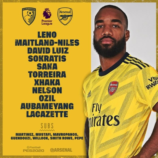 HLV Mikel Arteta ra mat bang tran hoa Bournemouth hinh anh 3 1_3.JPG