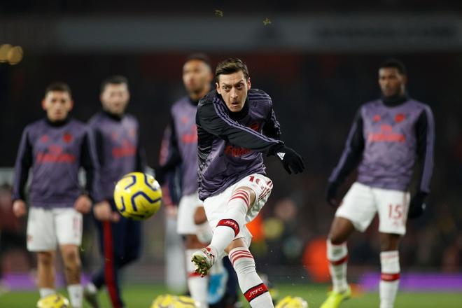 Arsenal thang Man Utd 2-0 tai Emirates hinh anh 8 2020_01_01T194520Z_88605982_RC277E9ULZCF_RTRMADP_3_SOCCER_ENGLAND_ARS_MUN_REPORT.JPG