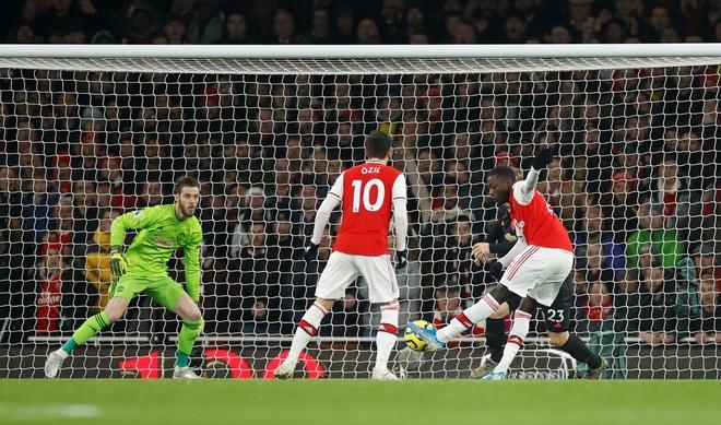 Arsenal thang Man Utd 2-0 tai Emirates hinh anh 10 2020_01_01T200909Z_306232541_RC287E9W9QH2_RTRMADP_3_SOCCER_ENGLAND_ARS_MUN_REPORT.JPG
