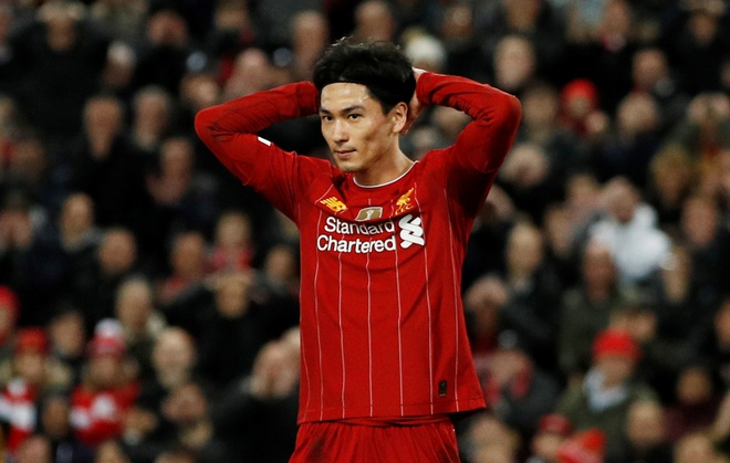 Liverpool vao vong 4 FA Cup trong ngay Minamino da chinh hinh anh 1 2020_01_05T163621Z_1464685743_RC2S9E946LI2_RTRMADP_3_SOCCER_ENGLAND_LIV_EVE_REPORT.JPG