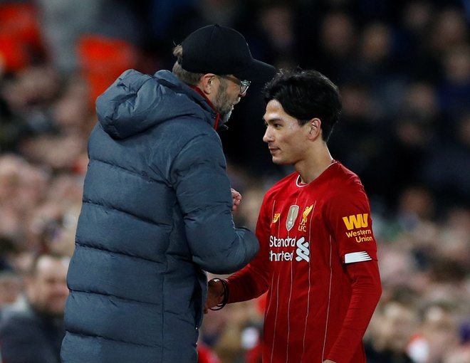 Liverpool vao vong 4 FA Cup trong ngay Minamino da chinh hinh anh 19 2020_01_05T173012Z_1387792070_RC2T9E9U4DKY_RTRMADP_3_SOCCER_ENGLAND_LIV_EVE_REPORT.JPG