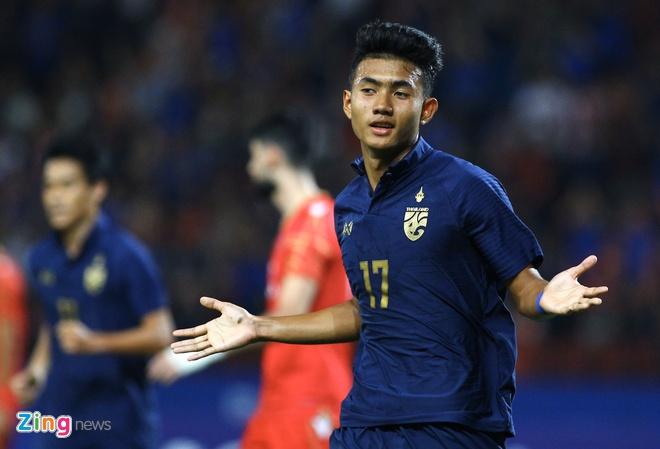 truc tiep U23 THAI Lan vs Bahrain anh 24
