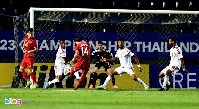 U23 Viet Nam hoa UAE o tran ra quan giai chau A hinh anh 41 ha_zing.jpg
