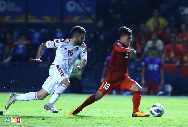 U23 Viet Nam hoa UAE o tran ra quan giai chau A hinh anh 47 quang_zing.jpg