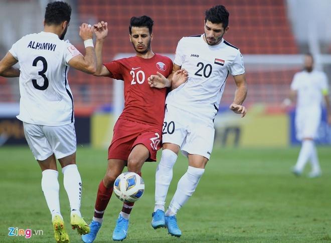 truc tiep U23 Qatar vs Saudi Arabia anh 4