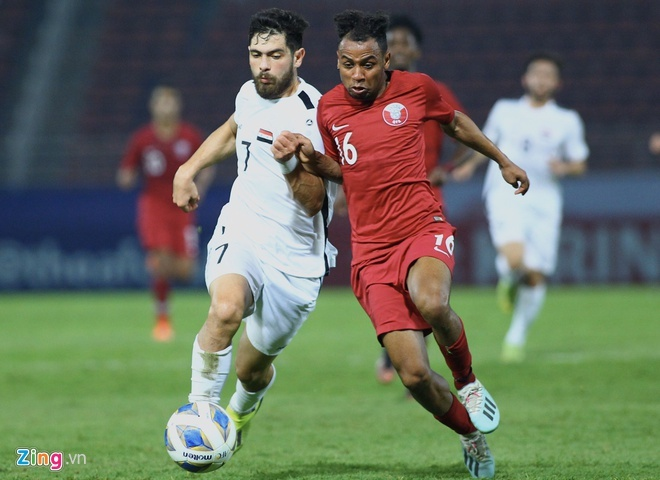 truc tiep U23 Qatar vs Saudi Arabia anh 5