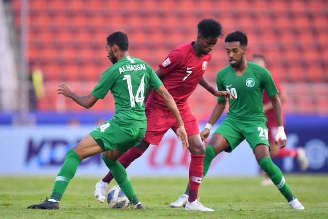 truc tiep U23 Qatar vs Saudi Arabia anh 15