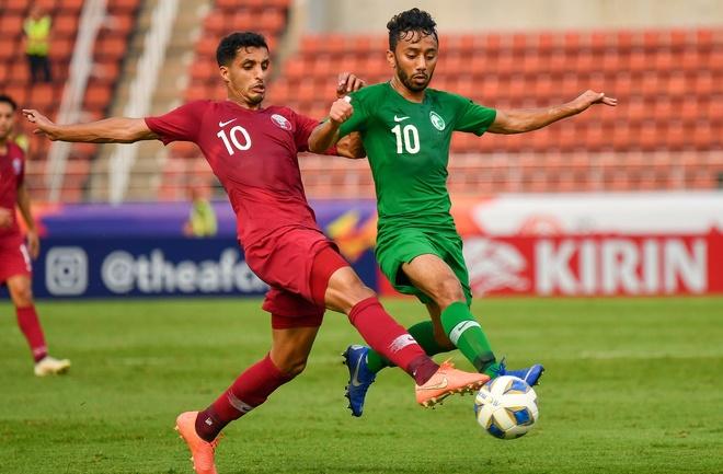 truc tiep U23 Qatar vs Saudi Arabia anh 19