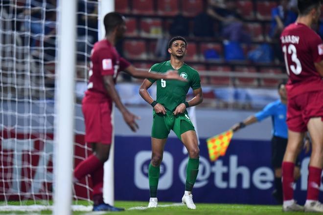 truc tiep U23 Qatar vs Saudi Arabia anh 21