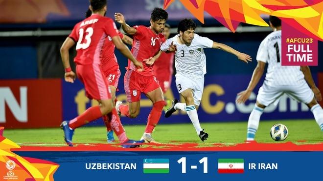 Thua Uzbekistan 0-2, U23 Trung Quoc bi loai khoi giai chau A hinh anh 4 uz.jpg