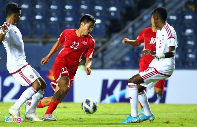 Truc tiep U23 UAE vs Trieu Tien anh 7