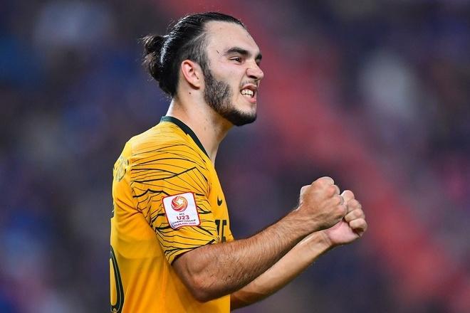 Hoa Bahrain 1-1, U23 Australia vao tu ket chau A cung Thai Lan hinh anh 4 AFC_U_23_CHAMPIONSHIP_2020_Match_20_.jpg