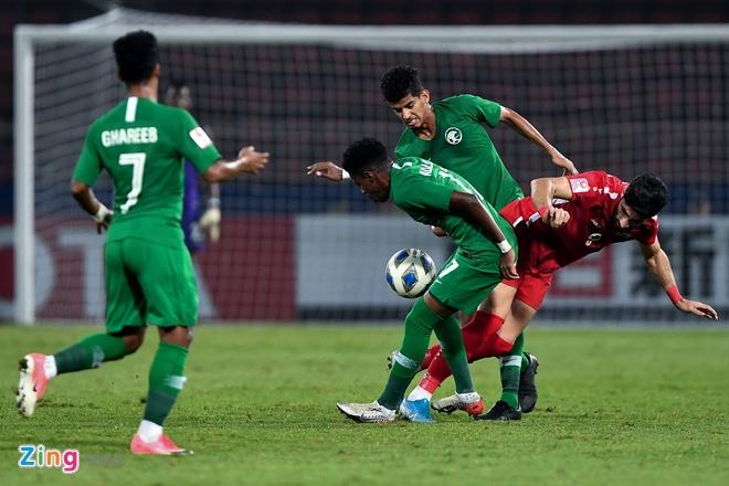 U23 Saudi Arabia va Syria dat tay nhau vao tu ket hinh anh 7 1_zing_1.jpg