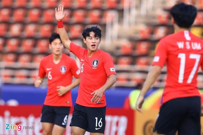 truc tiep U23 Han Quoc vs Uzbekistan anh 7