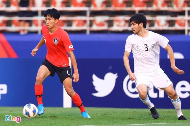 truc tiep U23 Han Quoc vs Uzbekistan anh 8