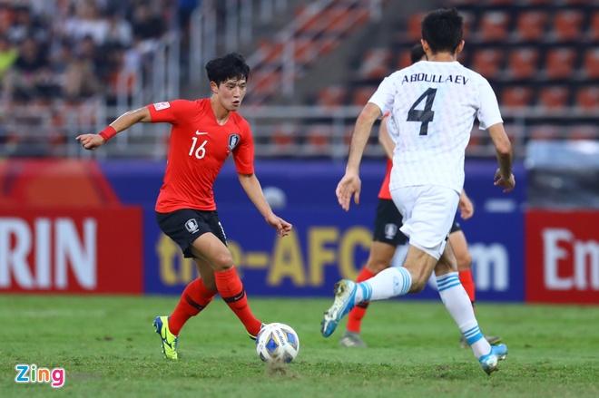 truc tiep U23 Han Quoc vs Uzbekistan anh 19