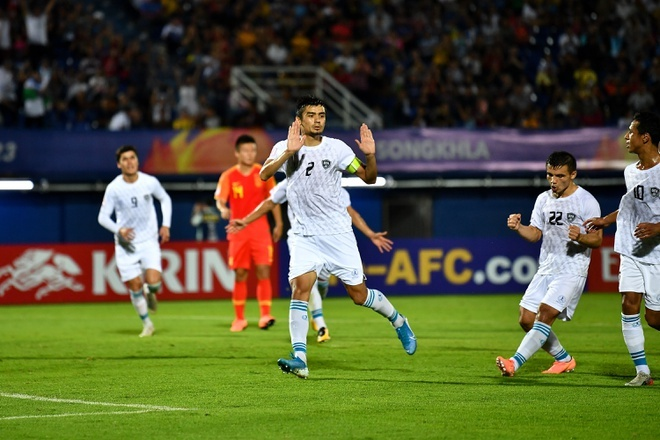 truc tiep U23 Han Quoc vs Uzbekistan anh 5