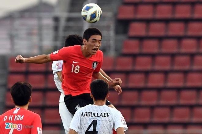 truc tiep U23 Han Quoc vs Uzbekistan anh 17