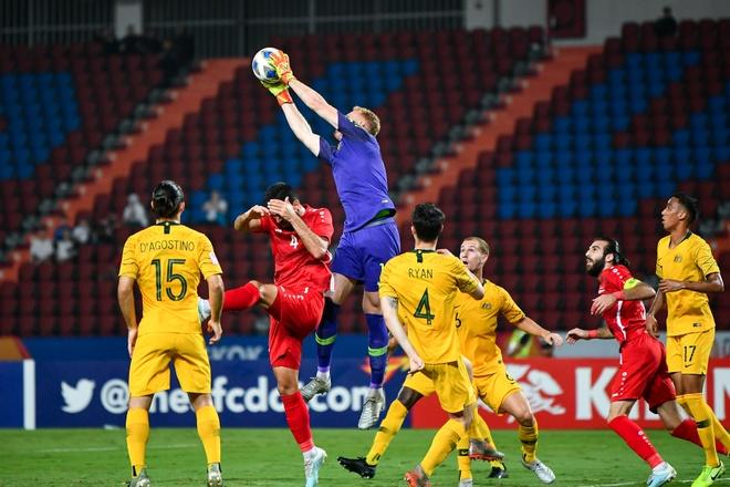 U23 Australia lan dau vao ban ket chau A sau tran chien 120 phut hinh anh 12 AFC_U_23_CHAMPIONSHIP_2020_Match_45_.jpg