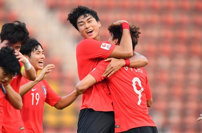 U23 Han Quoc danh bai Jordan bang ban thang o phut bu gio hinh anh 1 AFC_U_23_CHAMPIONSHIP_2020_Match_1__1.jpg