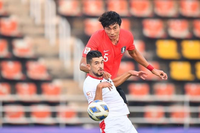 U23 Han Quoc danh bai Jordan bang ban thang o phut bu gio hinh anh 7 AFC_U_23_CHAMPIONSHIP_2020_Match_2_.jpg