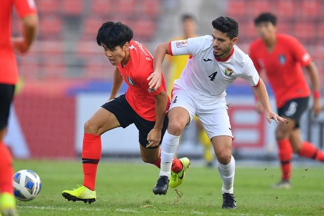 U23 Han Quoc danh bai Jordan bang ban thang o phut bu gio hinh anh 11 AFC_U_23_CHAMPIONSHIP_2020_Match_5_.jpg
