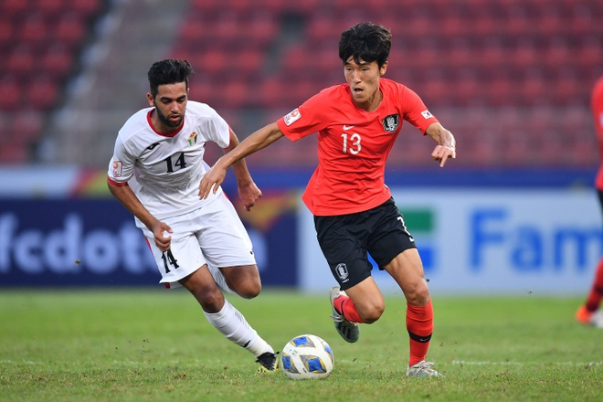 U23 Han Quoc danh bai Jordan bang ban thang o phut bu gio hinh anh 13 AFC_U_23_CHAMPIONSHIP_2020_Match_6_.jpg