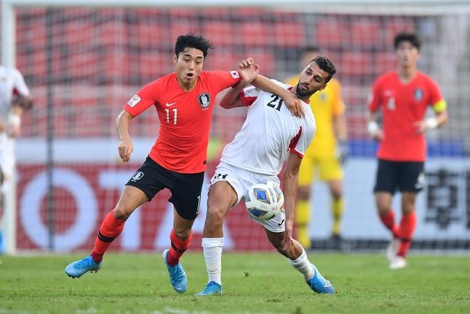 U23 Han Quoc danh bai Jordan bang ban thang o phut bu gio hinh anh 12 AFC_U_23_CHAMPIONSHIP_2020_Match_7_.jpg