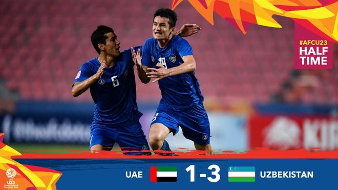 De bep UAE 5-1, U23 Uzbekistan gianh quyen vao ban ket chau A hinh anh 18 EOpkhmzUYAEwKre.jpg